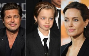 Shiloh Jolie-Pitt still with masculine style