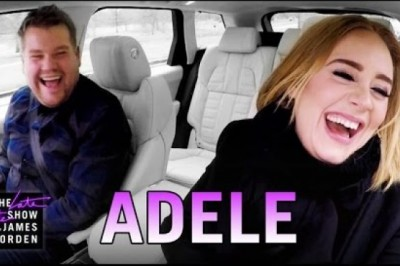 Adele performs all kinds of songs in this karaoke