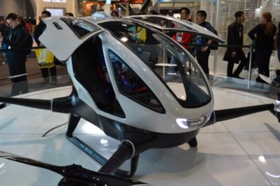 Ehang 184, the first drone that can transport a person