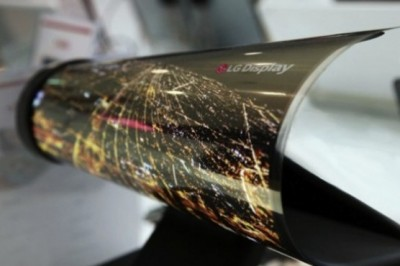 LG OLED panel is so flexible that you can roll it