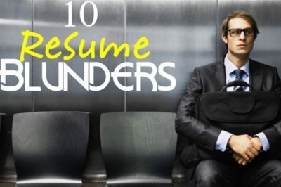 10 Mistakes To Avoid While Writing A Resume