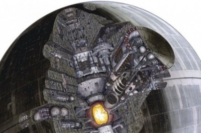 22 Beautiful illustrations to show details of the Star Wars ships