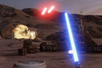 A Star Wars Game in Virtual Reality created by Lucasfilm