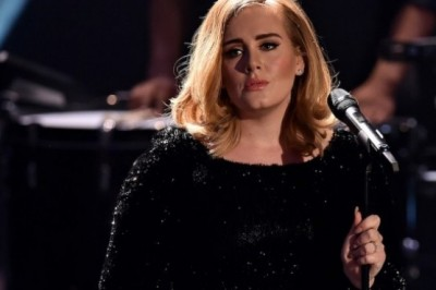 Adele gets angry with a fan during a live concert
