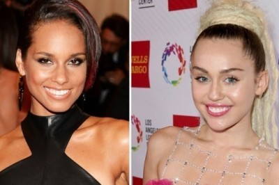 Miley Cyrus and Alicia Keys will compete on TV