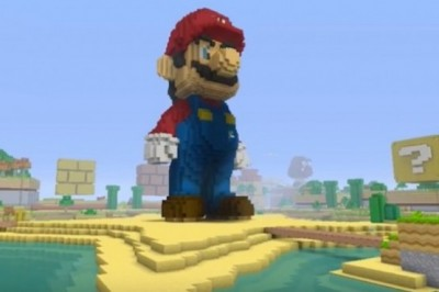 Super Mario comes in Minecraft version on Wii U for free