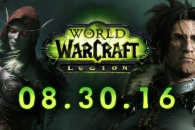 World of Warcraft: Legion releasing on August 30