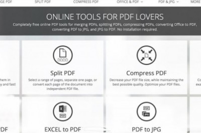 ILovePDF A Suite to create PDF documents Free Online
