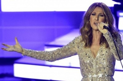 Celine Dion performed 'Hello' by Adele
