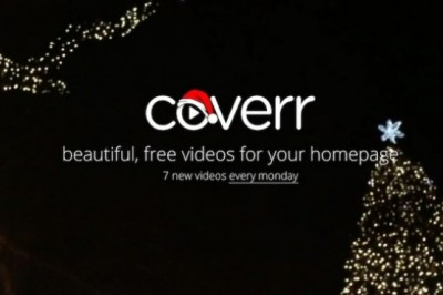 Coverr, a collection of free videos to the homepage of your website