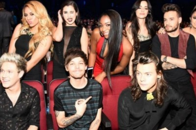 Fifth Harmony and One Direction have great chemistry!